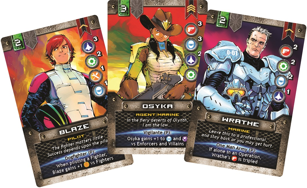 Ironclad Hero Cards