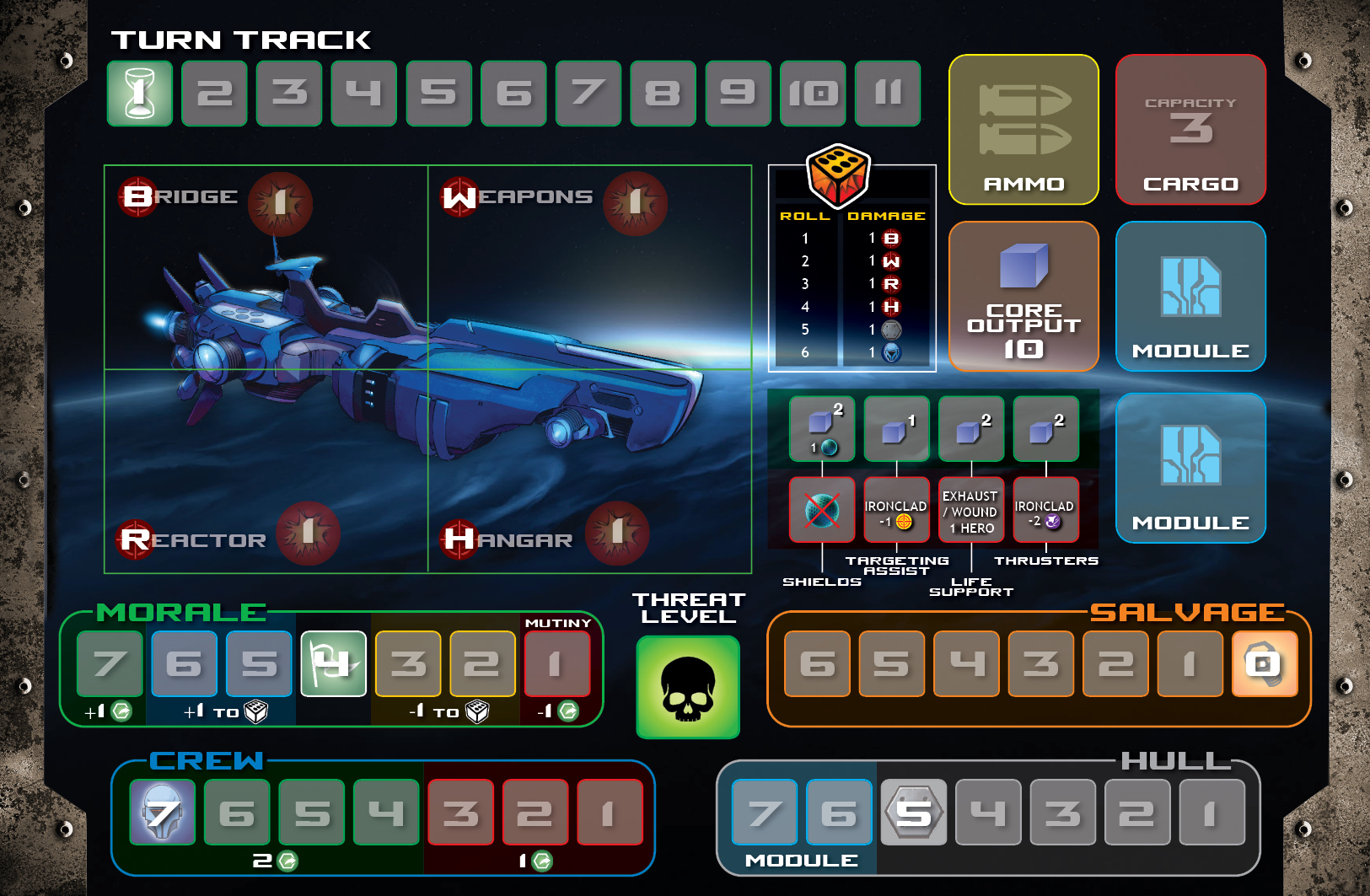 Ironclad Player mat