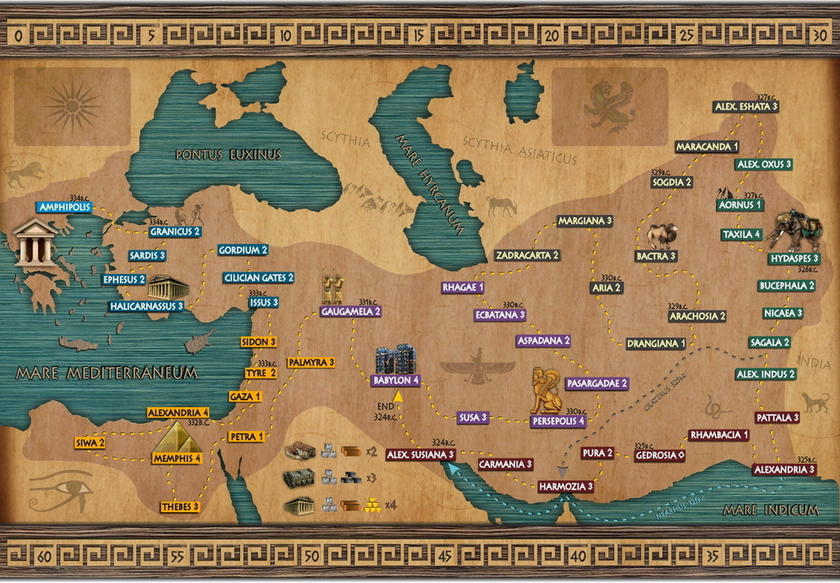 Alexander's Campaign Board